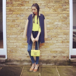 NW3_Navy_Coat_Zara_Yellow_Heart_Blouse_Mulberry_Yellow_Bag_2